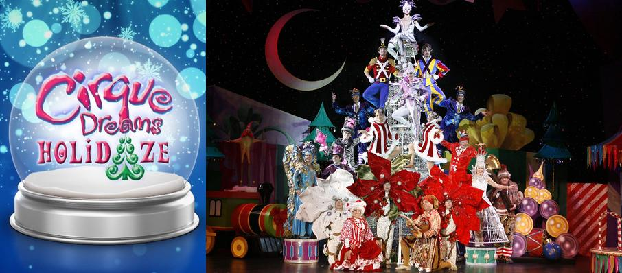 Cirque Dreams Holidaze at Brick Breeden Fieldhouse